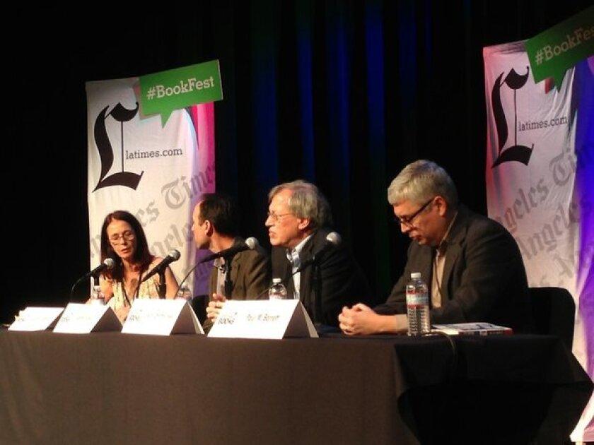 Celeste Fremon, Adam Winkler, Erwin Chemerinsky and Paul M. Barrett
