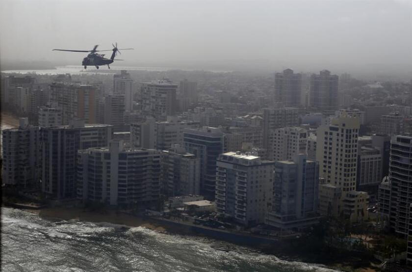 Vista de la ciudad de San Juan, Puerto Rico. EFE/Archivo