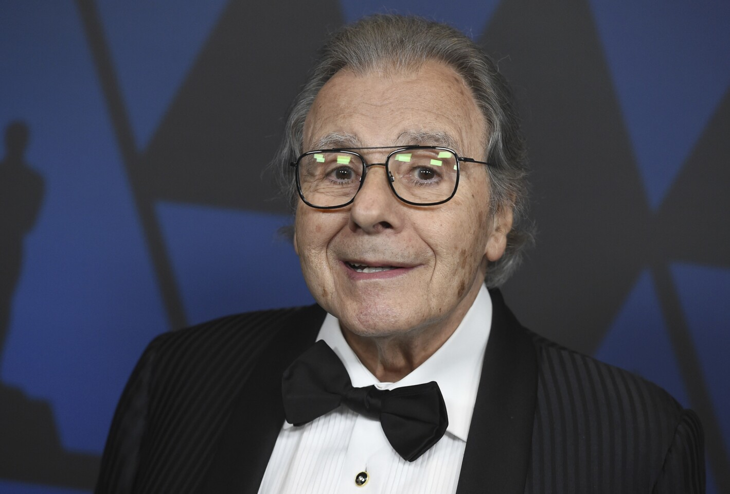 Honoree Lalo Schifrin arrives at the Governors Awards at the Dolby Theatre in Los Angeles.