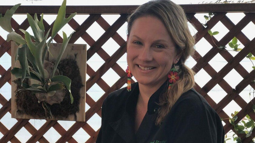 Coral Strong is the chef-owner of Garden Kitchen.