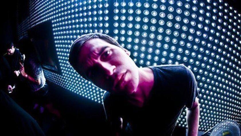Anthony Ross (28) -- House/Techno DJ/Producer, shown at Voyeur Nightclub