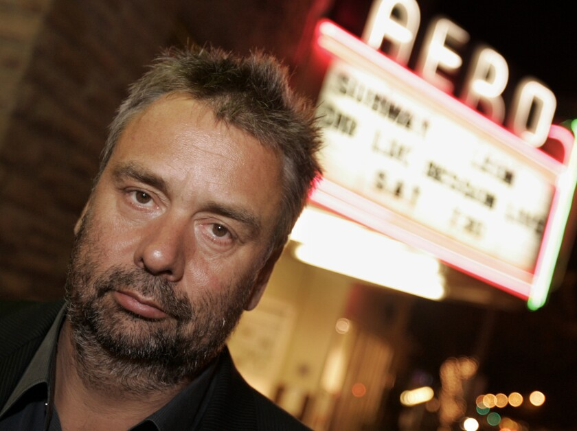 Writer, director and producer Luc Besson, at a tribute to him at the Aero Theatre in Santa Monica in 2007.