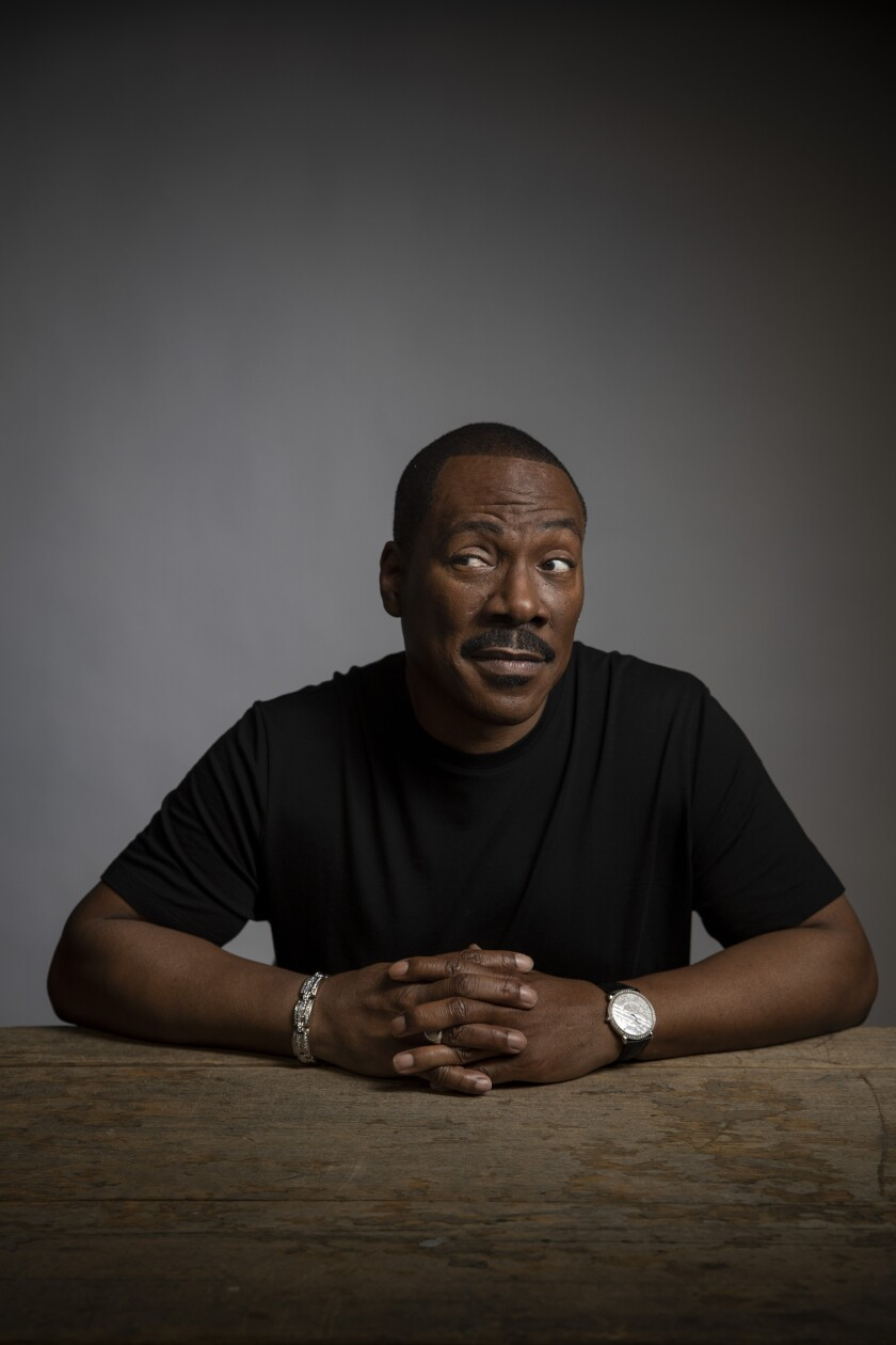 "Eddie Murphy is earning Oscar buzz for ""Dolemite Is My Name."""