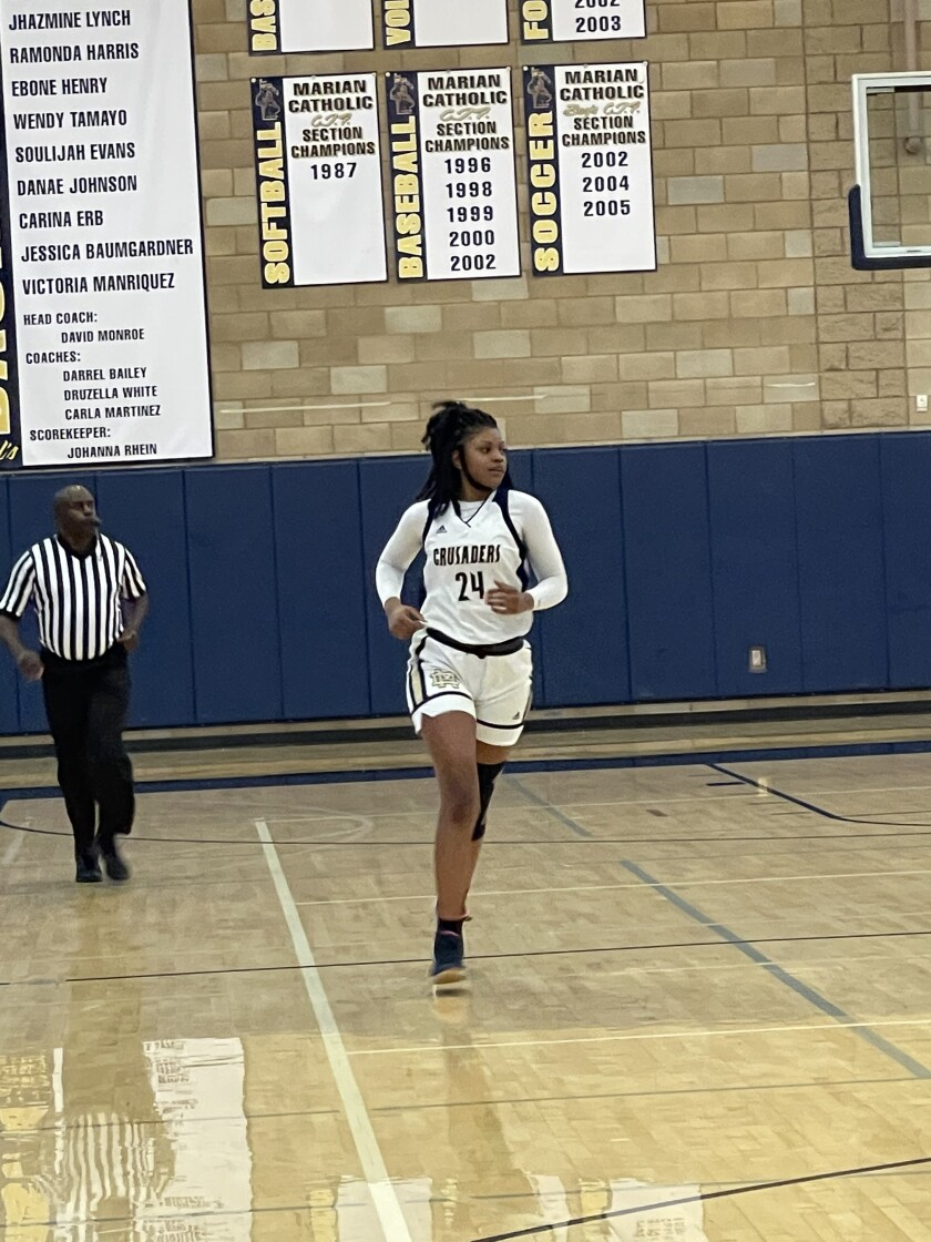 Kayanna Spriggs will attend Cal State Northridge, where she will play basketball.