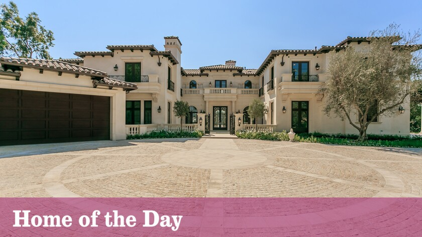 The Beverly Hills villa known as Grande Belleza is listed for sale at $21.995 million.