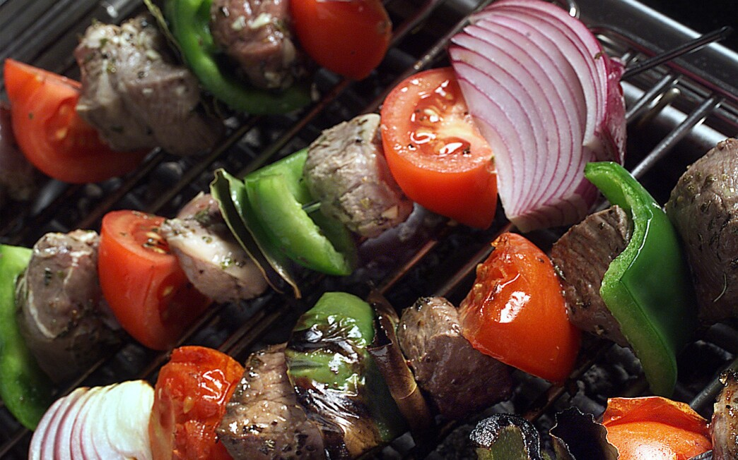 Lamb-and-Vegetable Souvlaki
