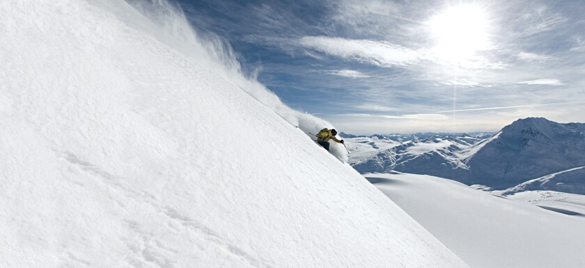 Chugash Powder Guides offers access to isolated slopes