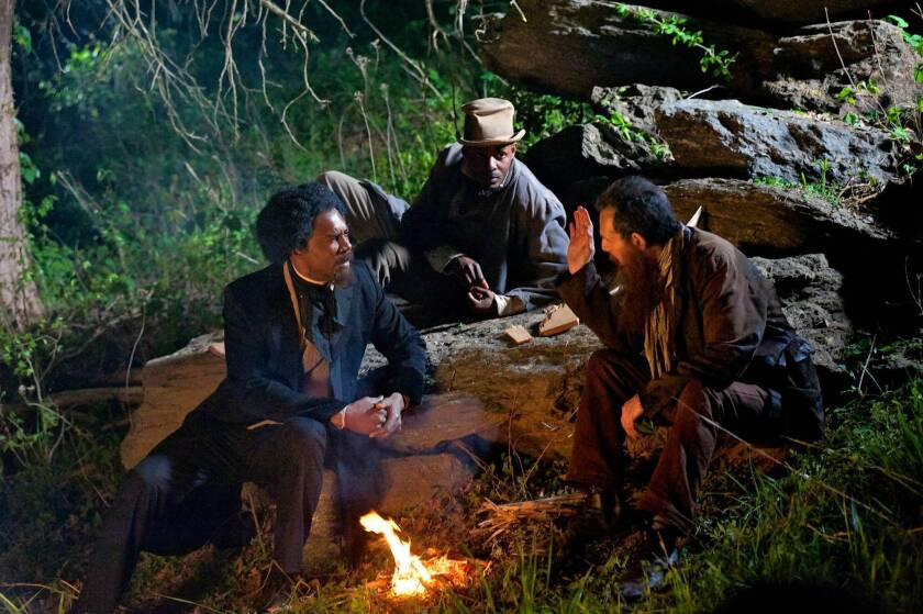 """A scene from PBS documentary """"The Abolitionists:American Experience."""""""