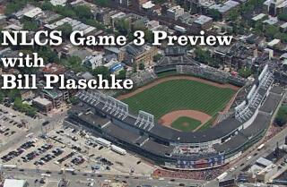 Bill Plaschke wonders if the Cubs have confidence in Game 3