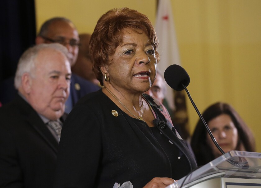 Alice Huffman, president of the California NAACP