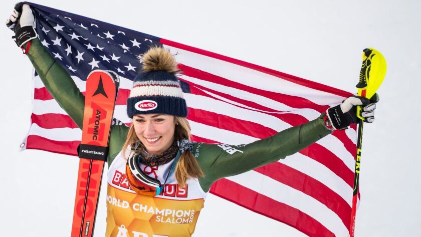 FIS Alpine Skiing World Championships 2019, Are, Sweden - 16 Feb 2019
