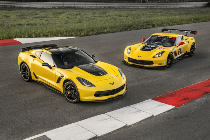 The 2016 Corvette Z06 C7.R Edition pays homage to the Corvette Racing race cars. Offered in coupe and convertible models, only 500 will be built - each with a unique, sequential VIN.