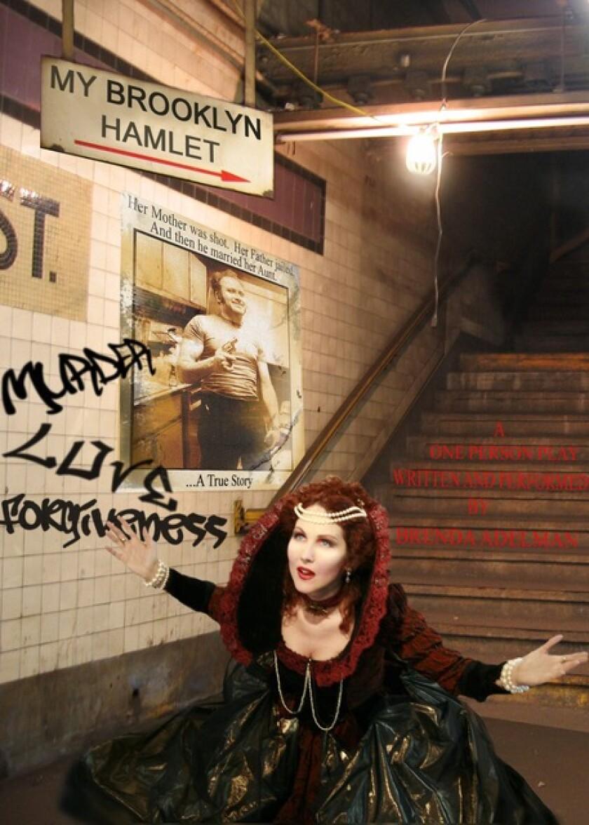 "Brenda Adelman in ""My Brooklyn Hamlet"""