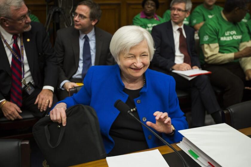 Fed Chair Yellen Tetsifies on Monetary Policy to Congress