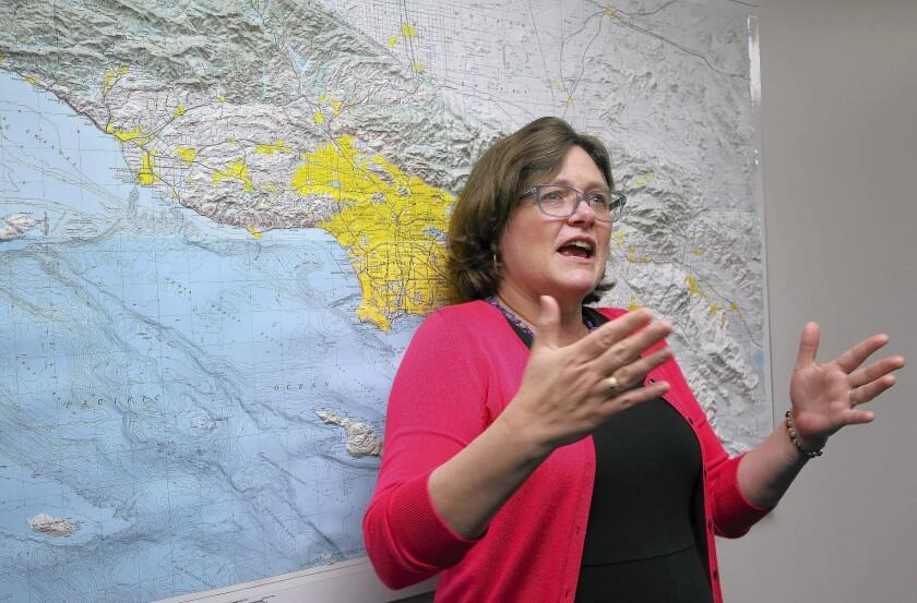 Lucy Jones, L.A.'s earthquake advisor