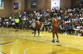 Drew League: James Harden puts on a show