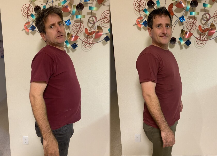 Not only has a time-restricted diet made 'Light' reporter Corey Levitan noticeably slimmer, it has also improved his mood and given him a haircut and a shave.