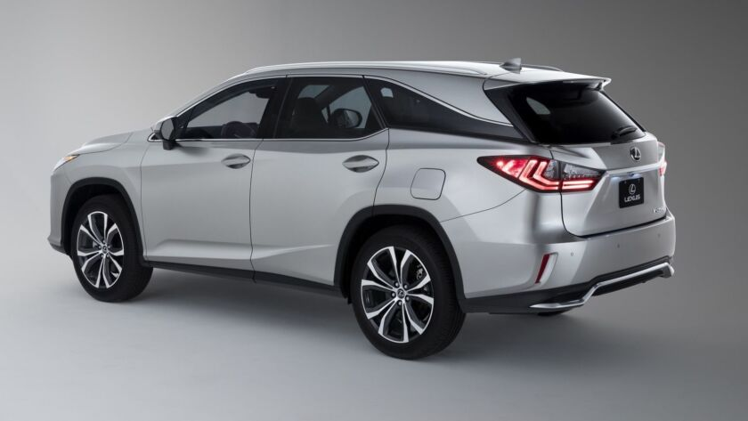2018 Lexus RX 350L: The 3-row prescription for family travel