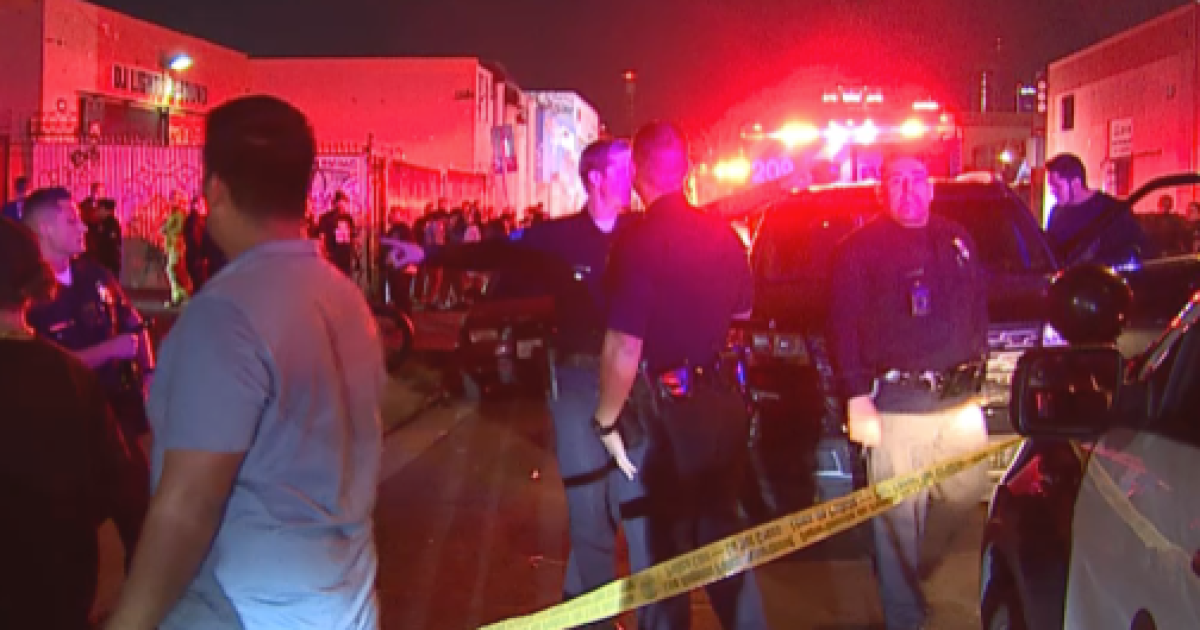 At least six people shot at a party in warehouse district in downtown Los Angeles