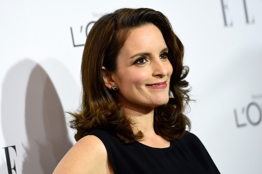 "Tina Fey is executive producer of ""Unbreakable Kimmy Schmidt."""