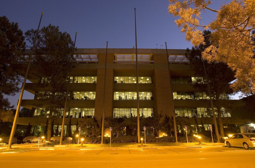 The San Diego Union-Tribune has been in its present Mission Valley location since 1973.
