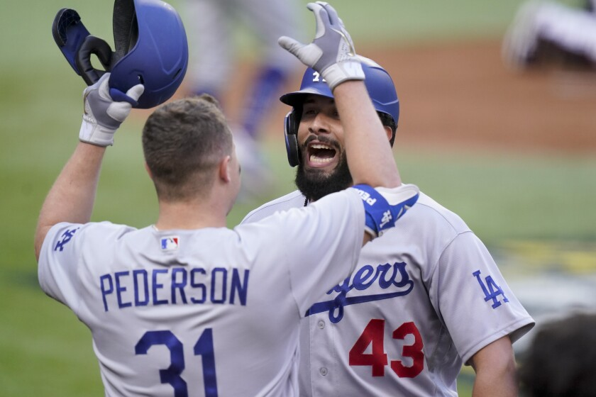 Dodgers Score Record 11 Runs In 1st Inning Vs Braves In Nlcs The San Diego Union Tribune