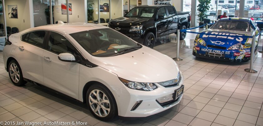 2016 Volt at Jimmie Johnson's Kearny Mesa Chevrolet