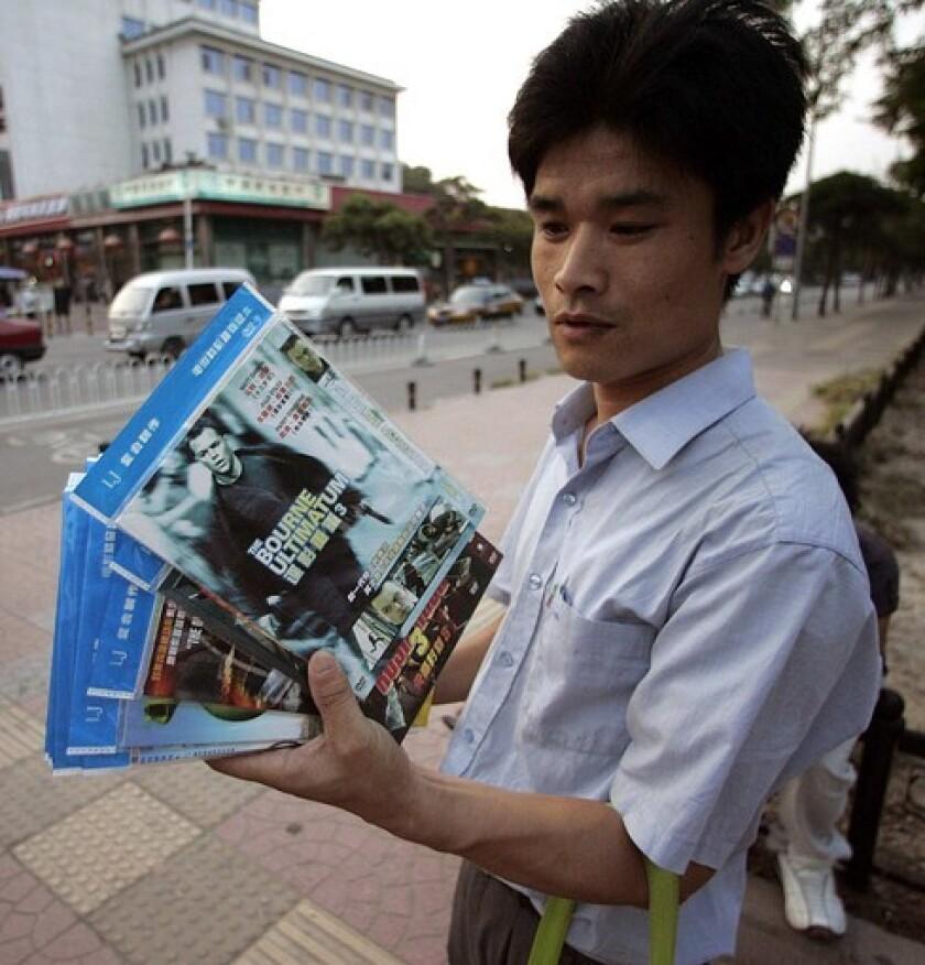 Black-market DVDs sometimes offer more bonus features than the U.S. versions.