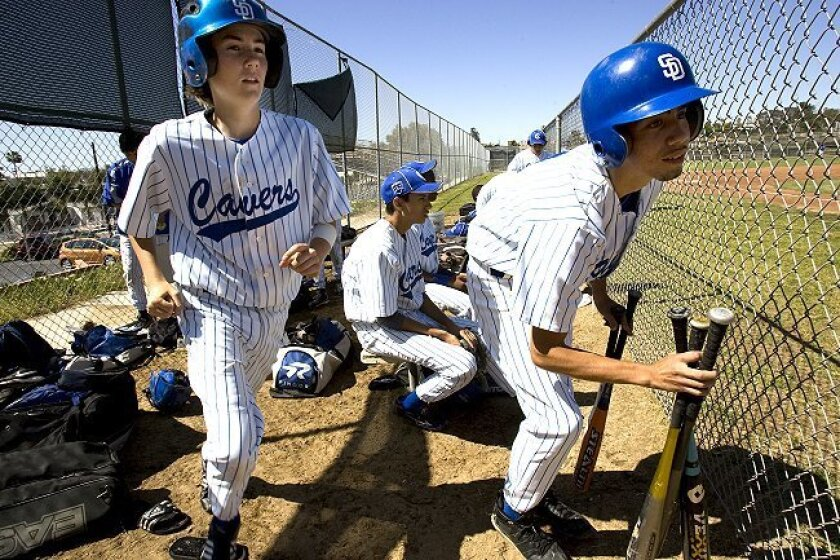 The junior varsity baseball team at San Diego High has managed to stay intact while others in the Central League have been forced to disband.
