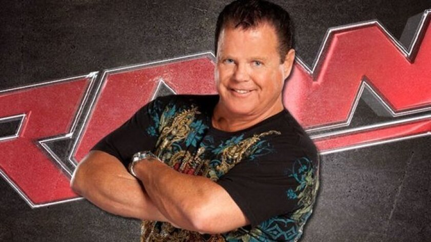 """Jerry Lawler, 62, suffered a heart attack while doing commentator duty during WWE's """"Monday Night Raw."""""""