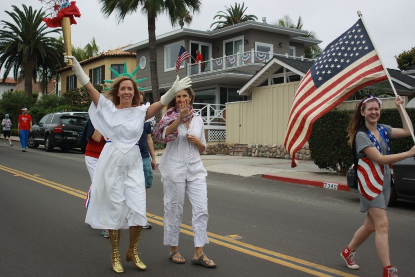 The annual Fourth of July Parade in the Barber Tract starts at 10 a.m.