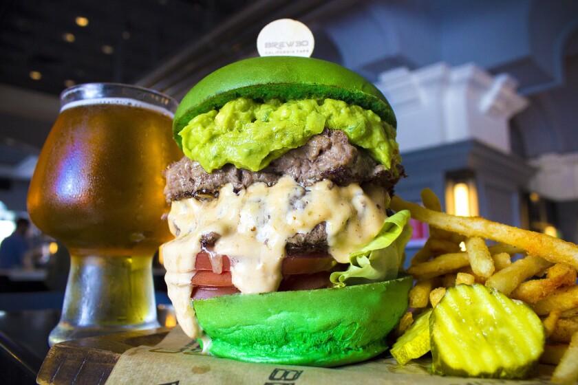 Incredible Hulk Burger