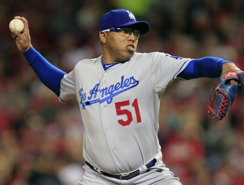 Ronald Belisario had a 5-7 record with a 3.97 earned-run average last season, when his 77 appearances led the team was was tied for third in the majors.