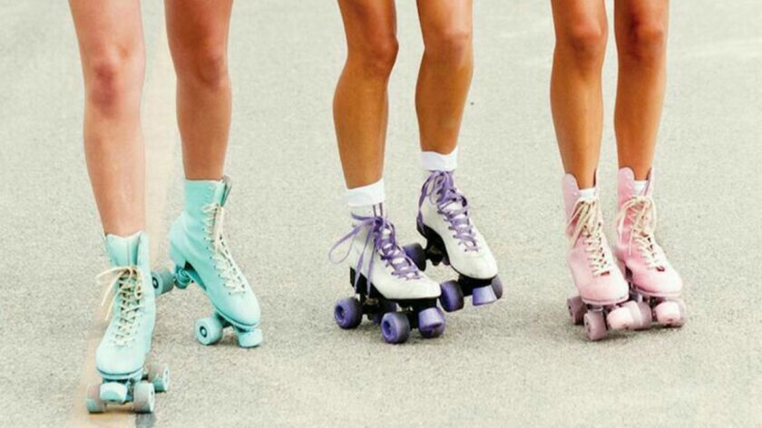 RollerGirlfriends - A pop-up skating rink will make its way around Los Angeles starting in May. Cre