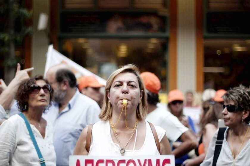 Greece's economic woes get more taxing