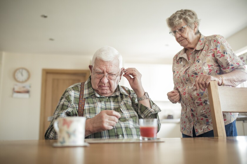 A whopping 80 percent of adults between the ages of 55 and 74 who would benefit from wearing a hearing aid don't use them.