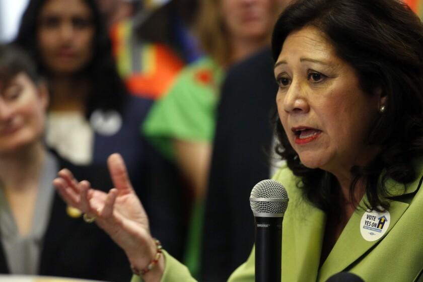 L.A. County Supervisor Hilda Solis
