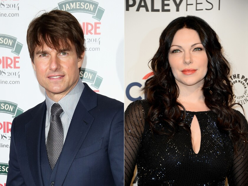 Reps for Tom Cruise and Laura Prepon have denied reports that the actors are dating.