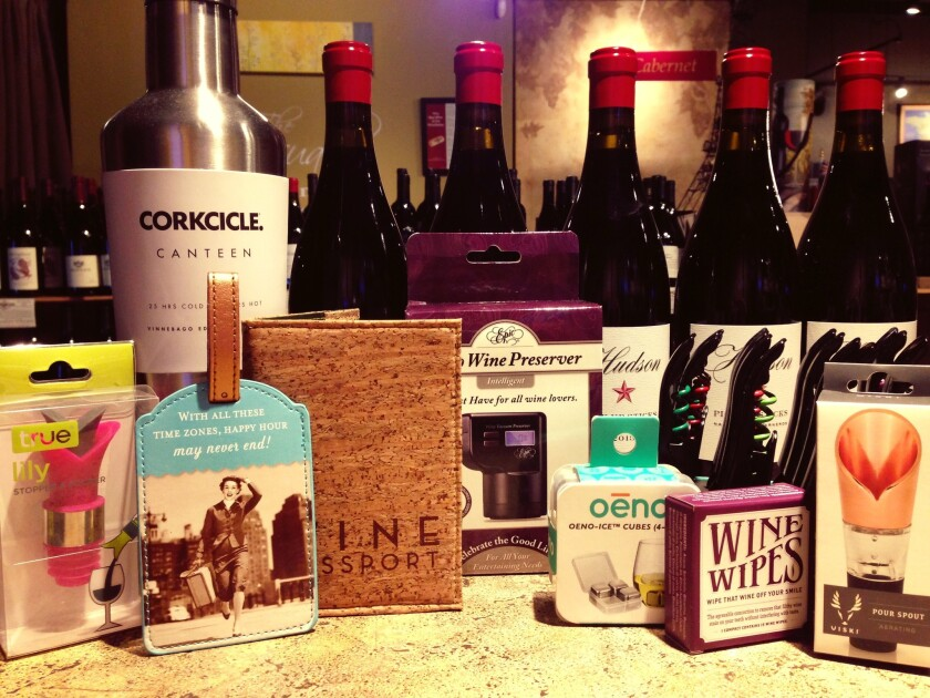 Not sure what to buy for the wine lover in your life? Buy him or her a useful, fun or frivolous wine gift, like any of these from the WineSellar & Brasserie.