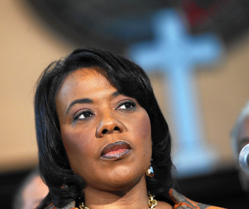 Bernice King, daughter of the Rev. Martin Luther King Jr., is being sued by her father's estate to retrieve his Bible and Nobel Peace Prize medal.
