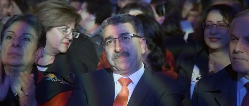 Ramallah mayor Musa Hadid.