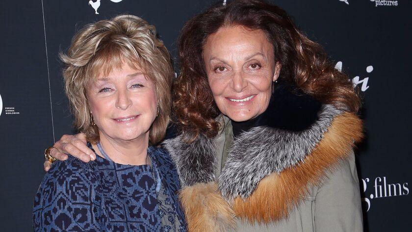 Daniele Thompson and Diane von Furstenberg