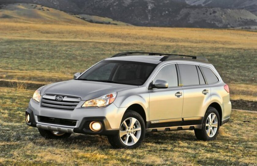 Subaru is recalling almost 5,400 Outback, seen here, and Legacy models for a potential loss of steering.