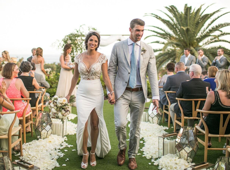 La boda de Michael Phelps