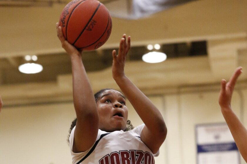 Janae Omusi averaged 19.4 points and 8.6 rebounds for Horizon last season.