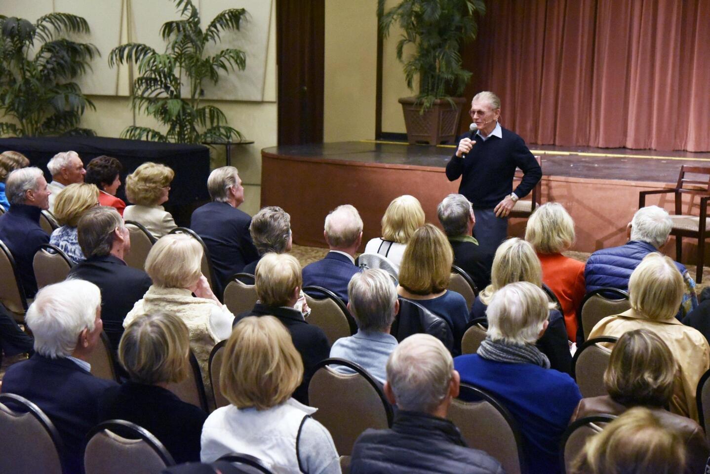 Guest Speaker Joe Harper