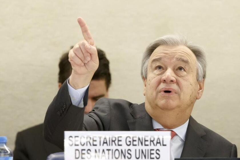 La ONU espera que lucha contra la corrupción siga en Guatemala tras la Cicig