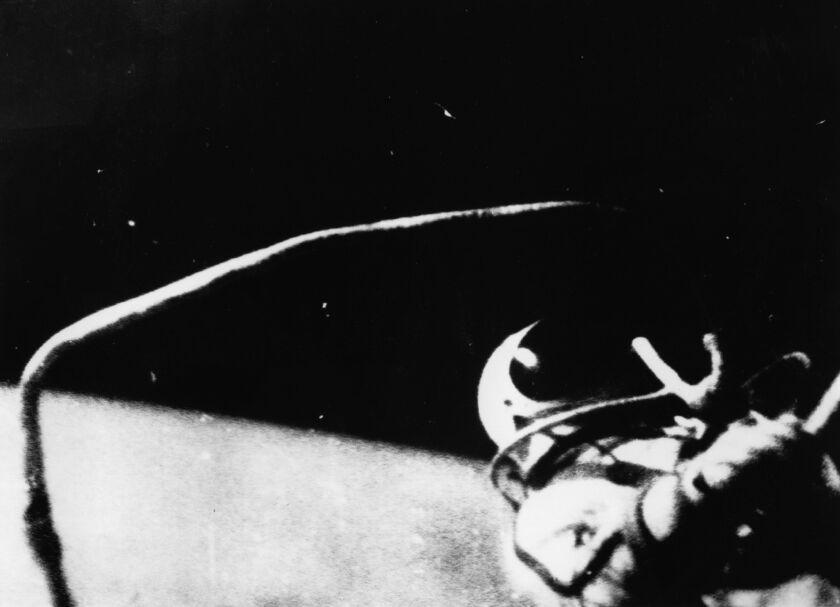 First spacewalk