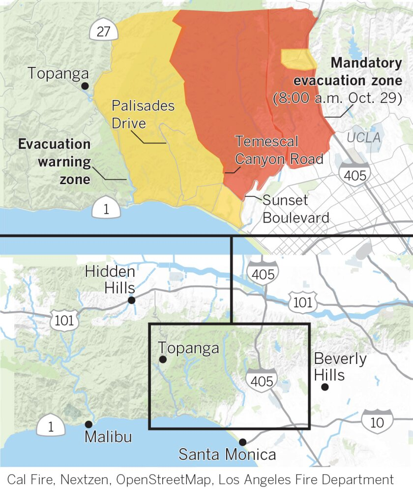 Evacuation map