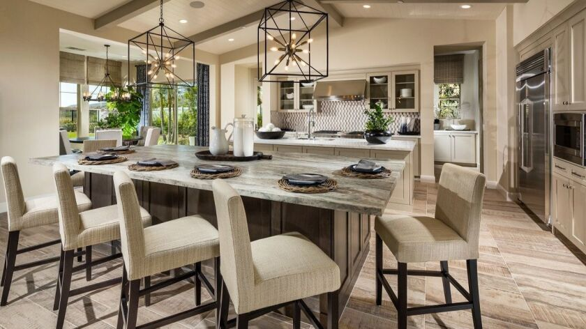Chef's kitchens are here to stay, say builders and remodelers. Photo Courtesy Shea Homes.